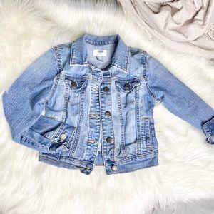 Old navy little girls jean jacket 6/7